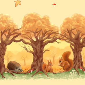 Sunny Forest Animals