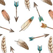 Rrsouthwest_feathers_and_arrows_150_hazel_fisher_creations_shop_thumb
