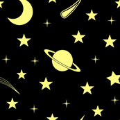 Starry Sky - Yellow