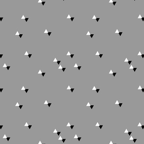 tiny triangles grey