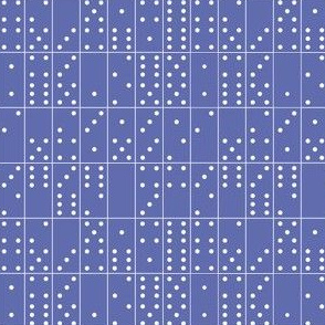 Domino Universe* (Shadow) || dominoes game geometric polka dots