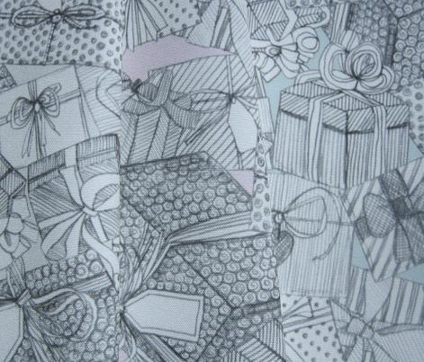 pencil parcels pink