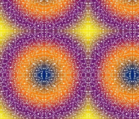 RainbowlBitch_copy fabric by melhel1 on Spoonflower - custom fabric