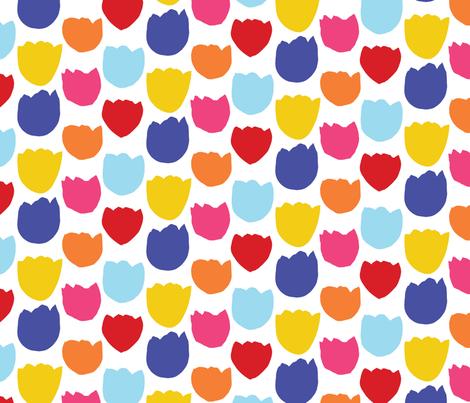 Spring Flowers 2017 Palette fabric by onelittleprintshop on Spoonflower - custom fabric