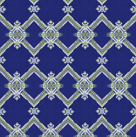 bright lattice fabric by janbalaya on Spoonflower - custom fabric