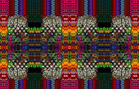 Brain Melt fabric by citivacreationz on Spoonflower - custom fabric