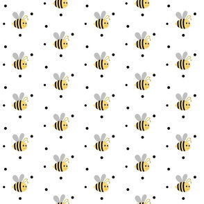 Buzzy Bee2 polka dots- Medium