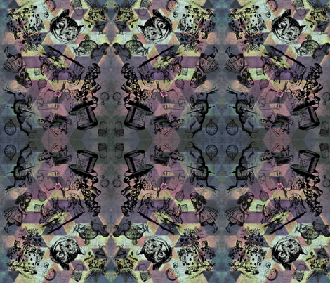 Wonderland fabric by citivacreationz on Spoonflower - custom fabric