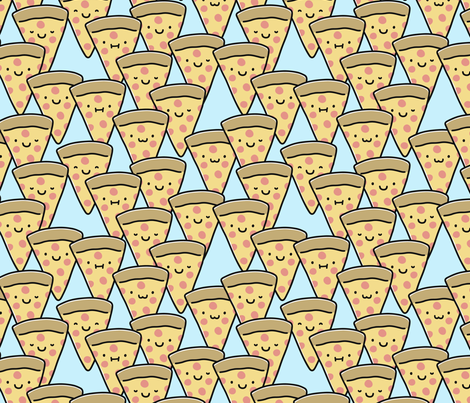 Pizza Party Time! fabric by heatherhightdesign on Spoonflower - custom fabric