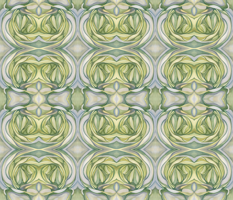 Succulant fabric by serogers on Spoonflower - custom fabric