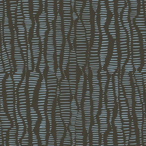 Dashed Stripe Gray