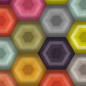 crochet honeycomb