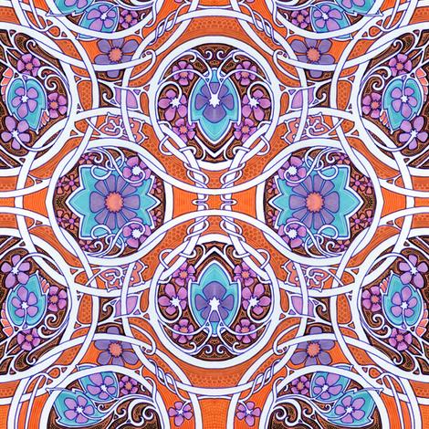 Tropical Sea Cruise fabric by edsel2084 on Spoonflower - custom fabric