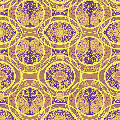 For All the Coins of China fabric by edsel2084 on Spoonflower - custom fabric