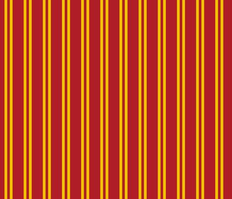 Magic School Inspired Gryffin Lion  Double Stripes fabric by designedbygeeks on Spoonflower - custom fabric