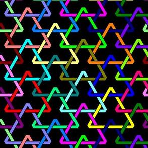 All-Color Interlocking Triangles