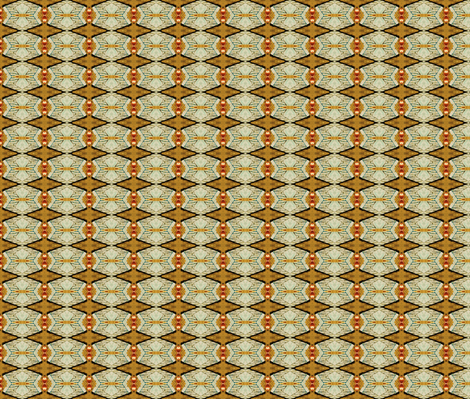 Copper Dragonfly fabric by ktd on Spoonflower - custom fabric