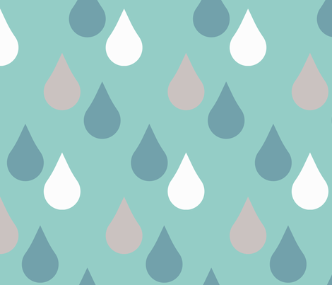 Rain-Pattern-3 fabric by charissapray on Spoonflower - custom fabric