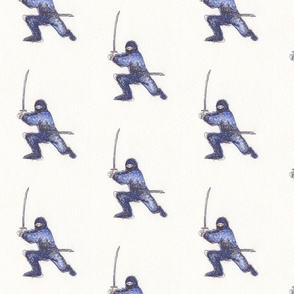 Large Blue Ninja
