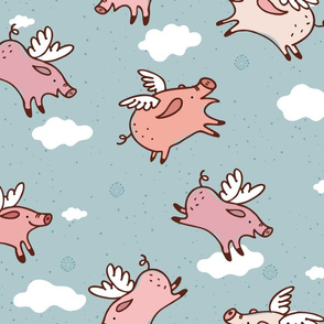 When Pigs Fly New!