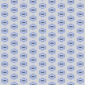 Hydrangea Grey Background