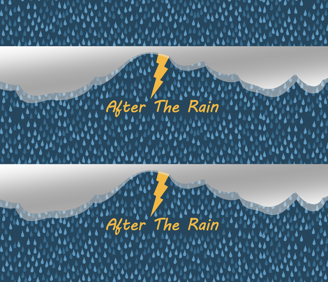 After the Rain fabric by lowa84 on Spoonflower - custom fabric
