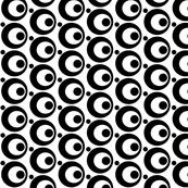 Circle & Dots Black