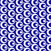 Circle & Dots Blue
