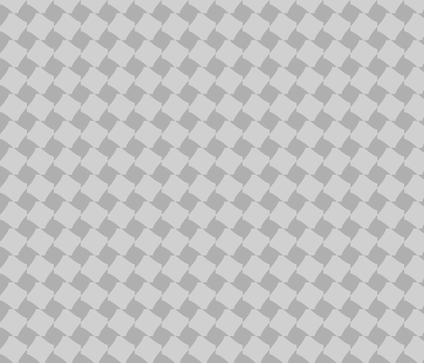 Grey Houndstooth fabric by blue_dog_decorating on Spoonflower - custom fabric