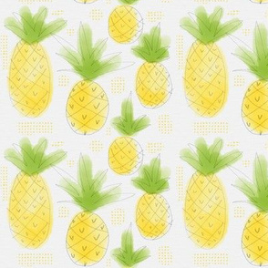 Sketchy Pineapples