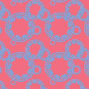 Cobblestone Coral w/ Blue