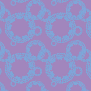 Cobblestone Purple w/ Blue