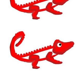 Fiery Croc (centered)