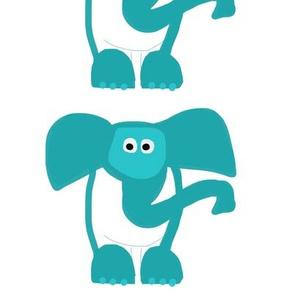 Elephant (centered small)