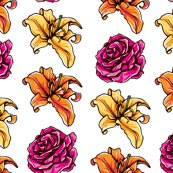 Rlily_orange_yellow_rose_pink_lily_and_rose_shop_thumb
