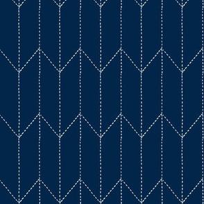 maritime stitch navy