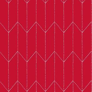 maritime stitch red