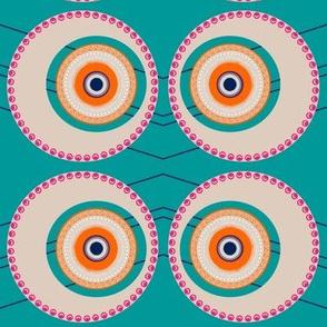 Elaborate Circle Peacock