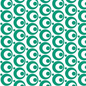 Circle & Dots Emerald