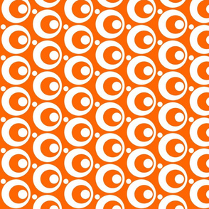 Circle & Dots Orange