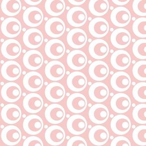 Circle & Dots Rose Quartz