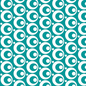 Circle & Dots Turquoise
