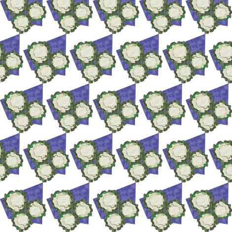 Cauliflower_small_11_20_2011 fabric by compugraphd on Spoonflower - custom fabric