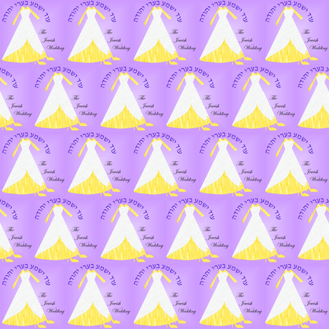 Jewish_wedding_1000X1000_2_27_2014 fabric by compugraphd on Spoonflower - custom fabric