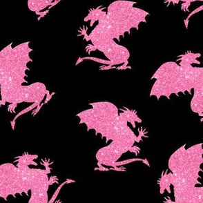 Dragon_Pink_Glitter_on_Black-01