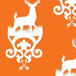 Hayden-Deer_fabric-orange