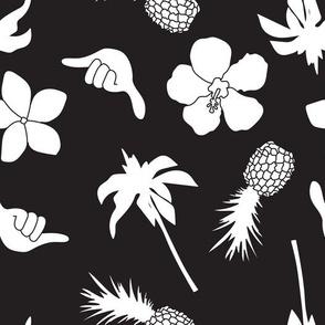 Black and White Tropics