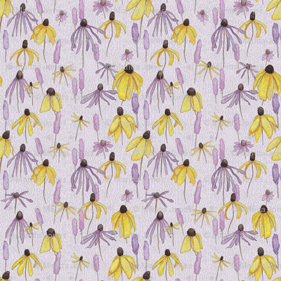 Purple Prairie Floral
