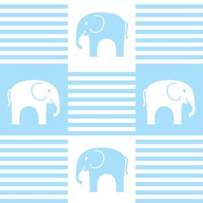 Elephants and Stripes