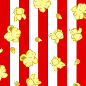 "Poppin' Corn - 2"" stripes"